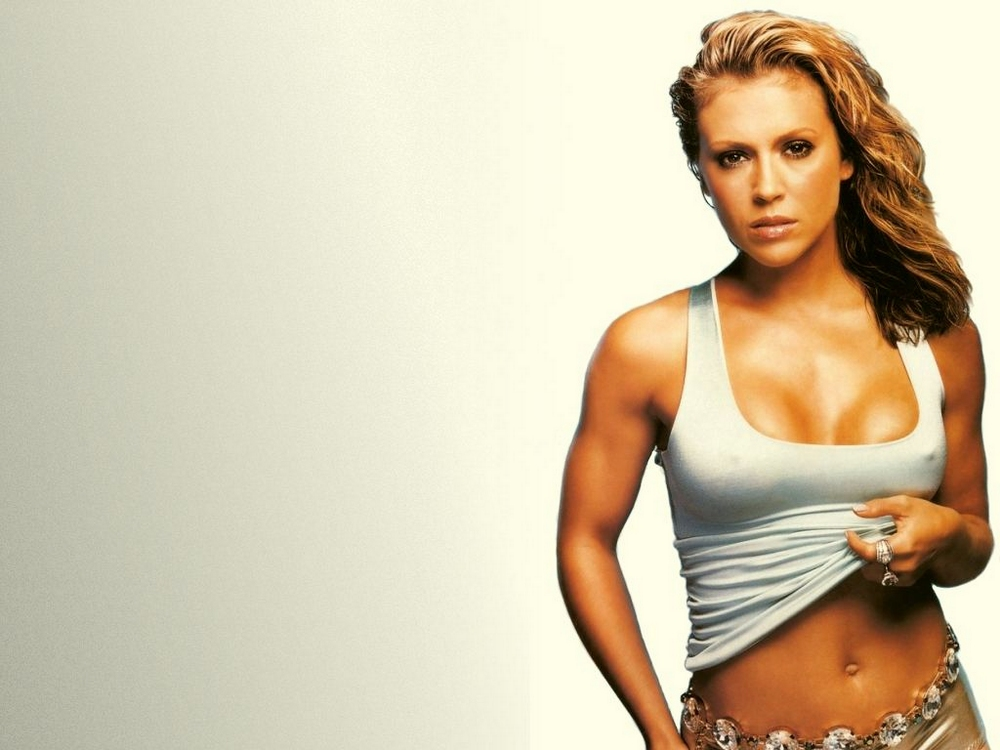 Wallpaper (10) by Alyssa Milano